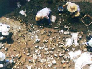 浜松市の遺跡発掘